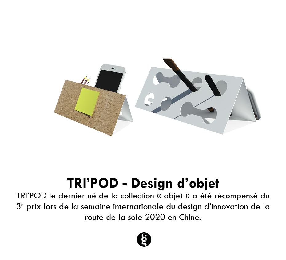 Design d'objet - TRI'POD