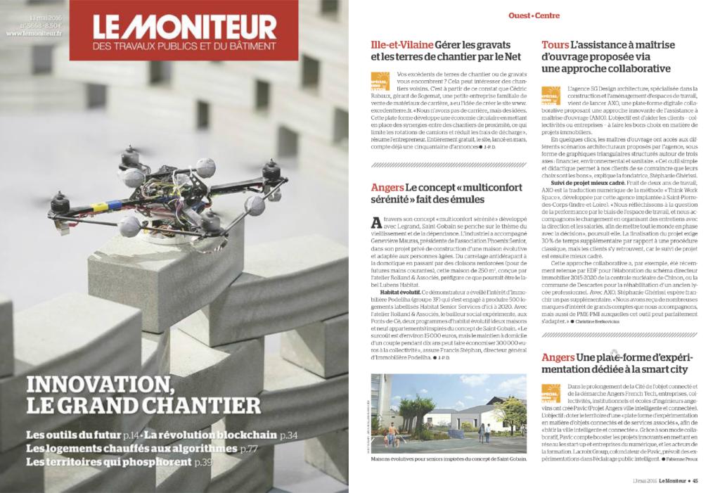 Magazine - LE MONITEUR
