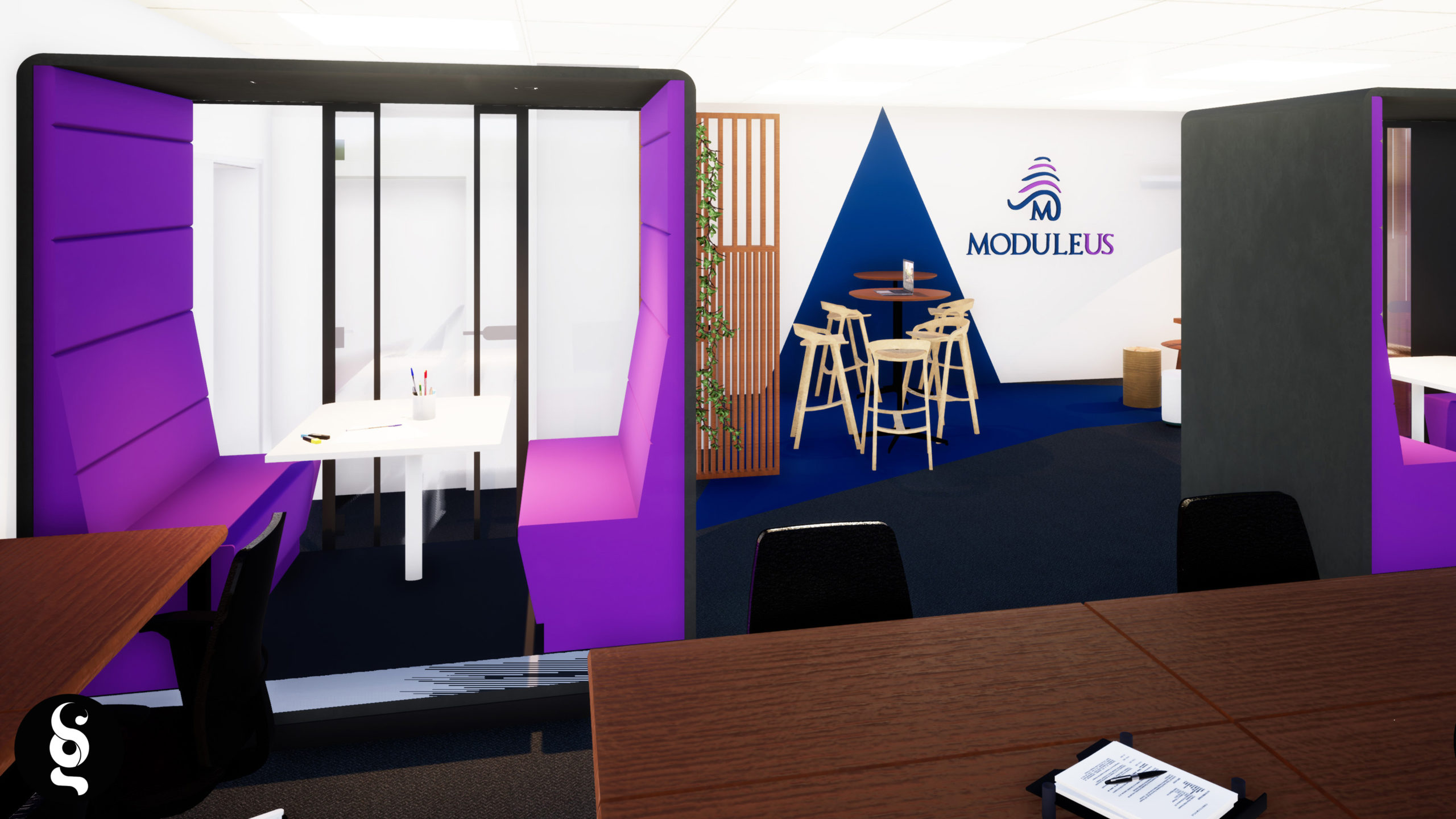 Image portfolio - MODULEUS projet réalisé par SG DESIGN
