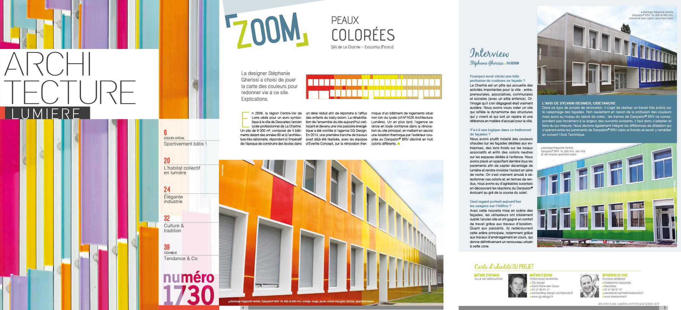 Magazine - ARCHITECTURE LUMIÈRE